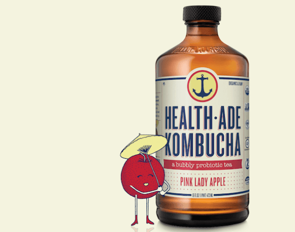 Health-Ade Kombucha, Pink Lady Apple | Kombucha health benefits
