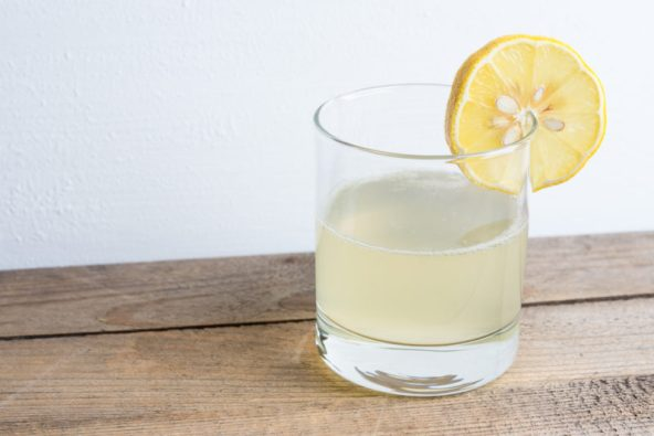 Wellness challenge: drink lemon water