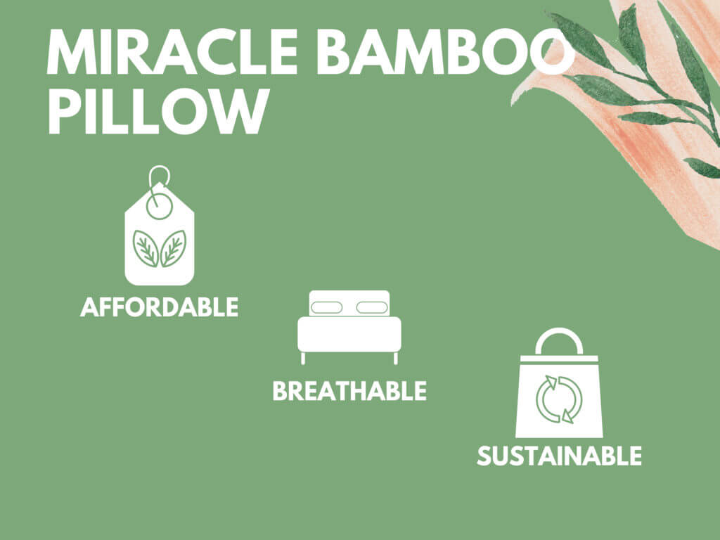 miracle bamboo pillow review 2020