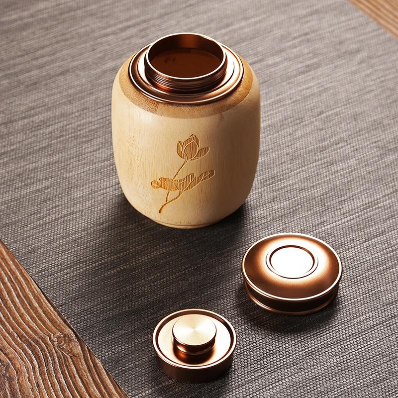 Bamboo Hearts Lid Jar