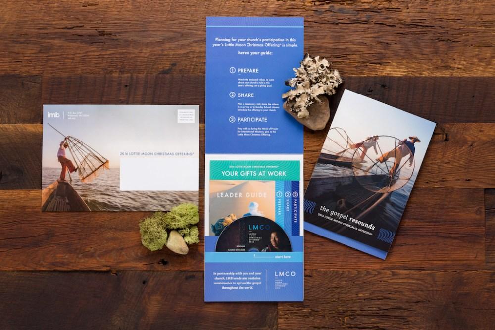 A presentation folder with a die cut DVD slit