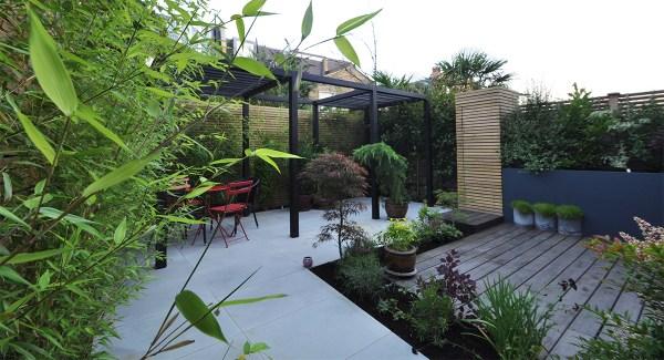 japanese bamboo garden design Contemporary Japanese Garden Design Clapham, London