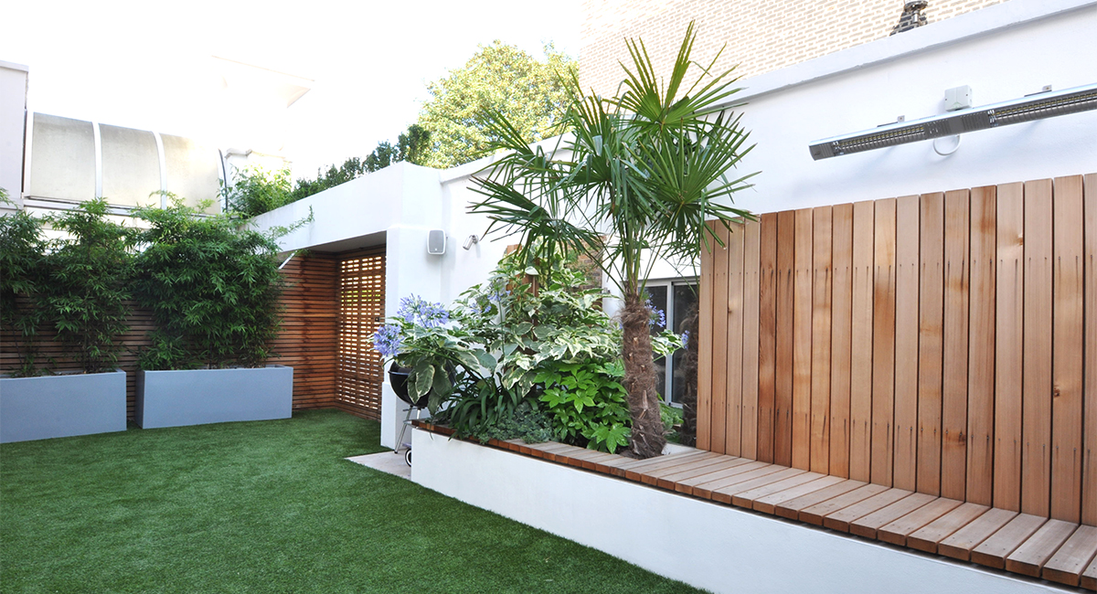 Living Room Garden Design in London | Bamboo Landscaping on Garden And Outdoor Living id=22084