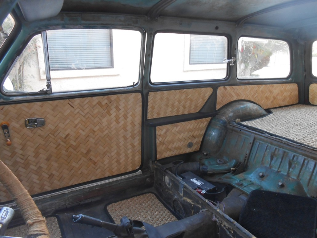Type 3 Interior Panels Bamboom Wagens