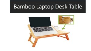 bamboo laptop desk table