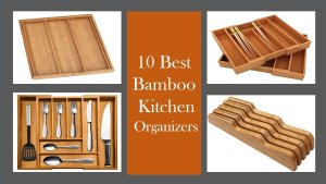 bamboo kitchen organizer