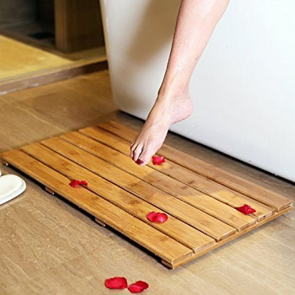 Top 5 Best Bamboo Bathroom Mat Reviews For You