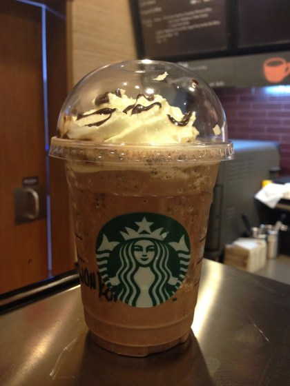 Willy Wonka Frappuccino