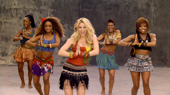 1. World Cup Fever - Shakira from Ogilvy