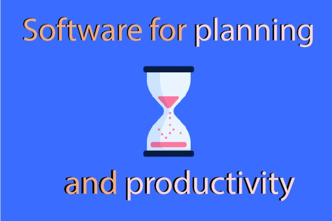 Software for planning and productivity - Caleb Lim