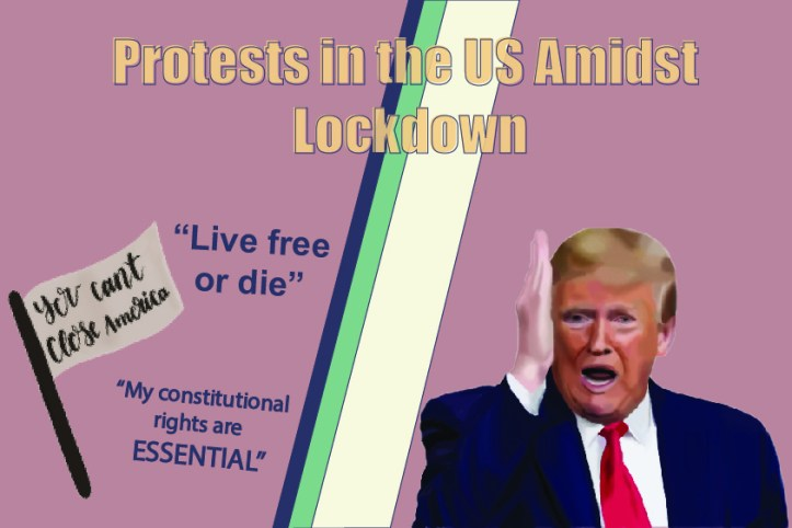 Protests in the US Amidst Lockdown - Somya Duggal