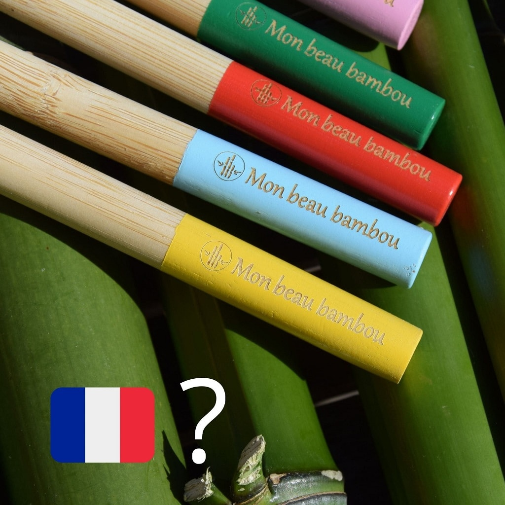 La brosse à dents en bambou est elle fabriquée en France ?
