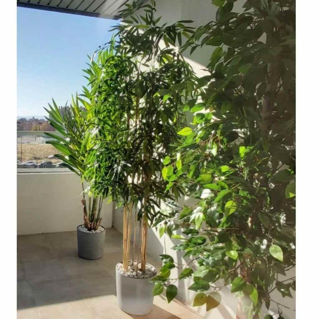 Bambou artificiel pour terrasse