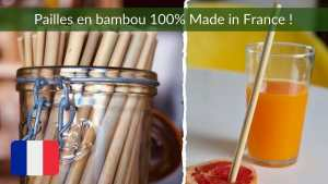 paille en bambou made in france