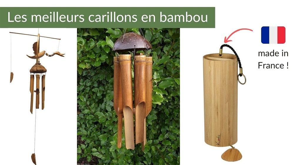 Carillons en bambou
