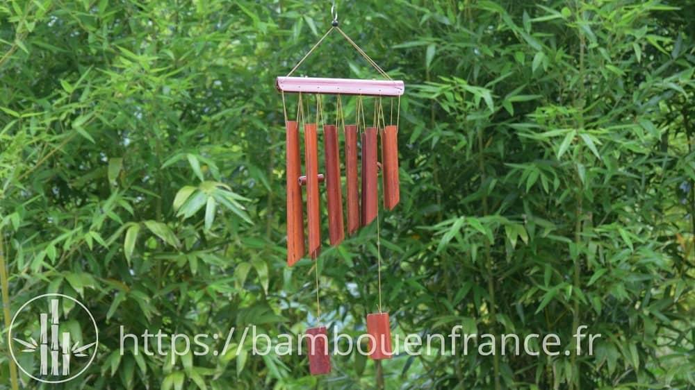 carillon bambou DIY