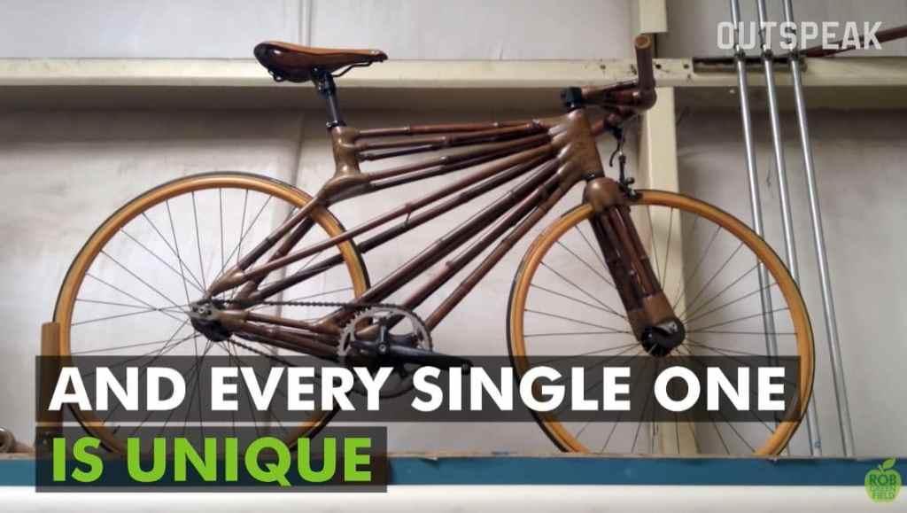 Vélo en bambou Craig Bamboo Bike