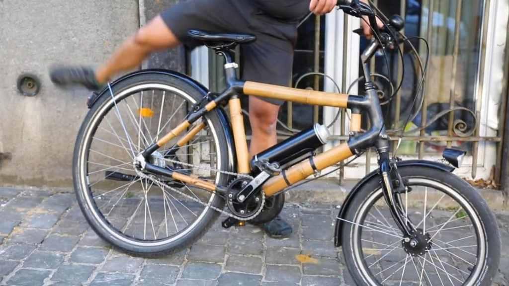 Velo en bambou Cycad
