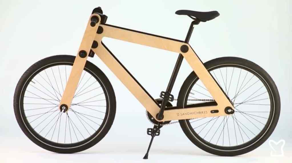 Vélo en bois Sandwichbikes