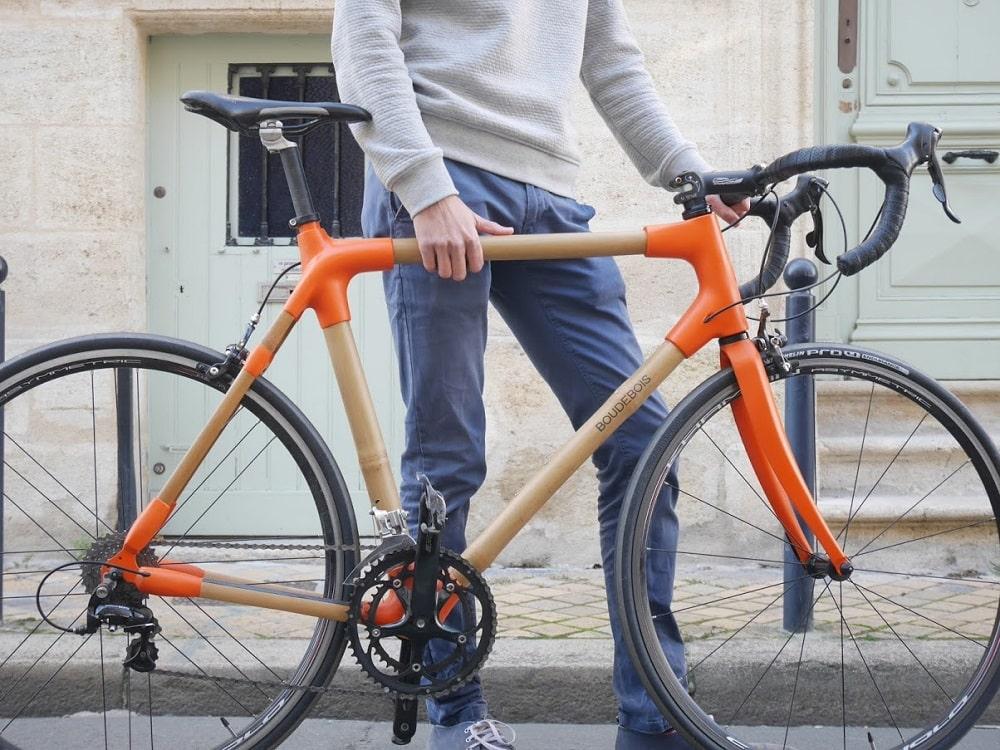 Vélo en bambou boudebois