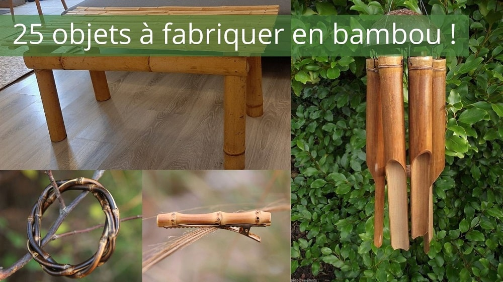 Objets à fabriquer en bambou