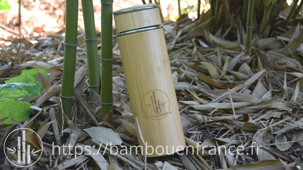 Gourde en bambou