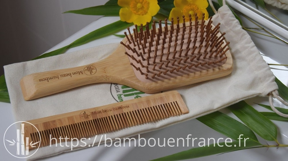 Brosse en bambou