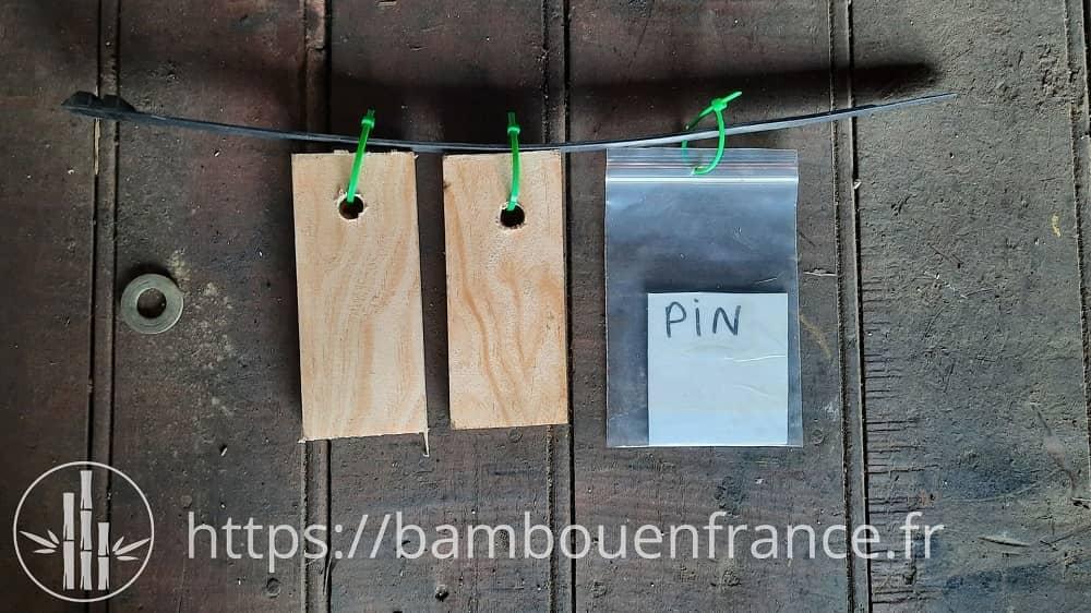 Echantillon de pin