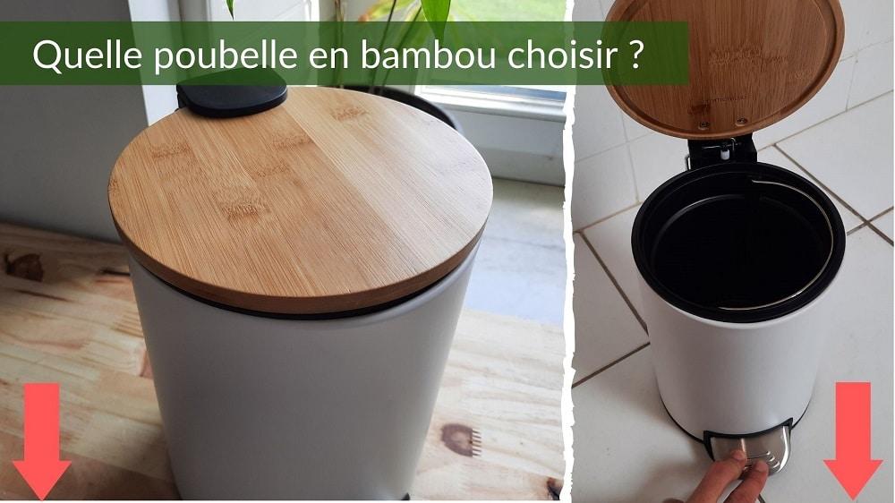 Poubelle bambou