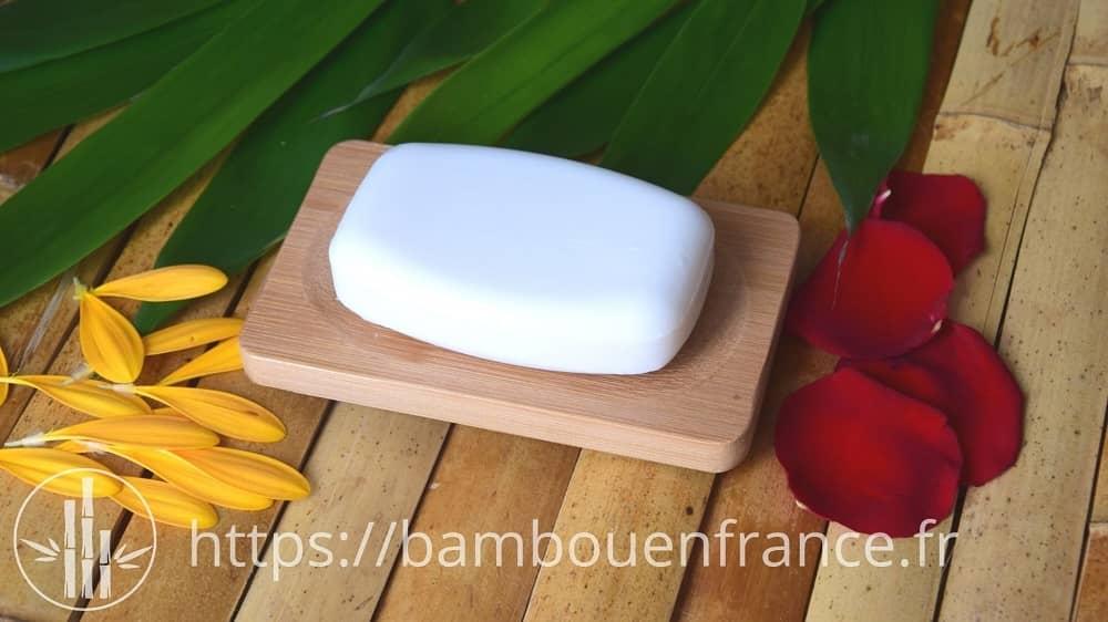 Porte savon 100% bambou naturel