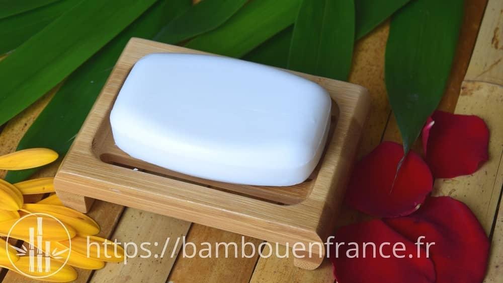 Porte savon en bambou bien aéré