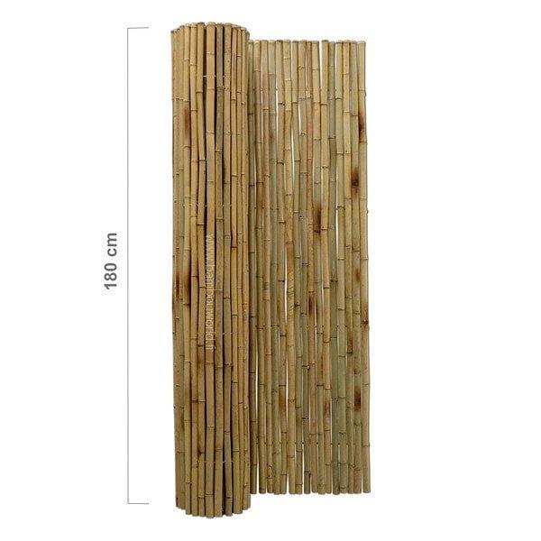 cloture bambou o 25 28mm naturel