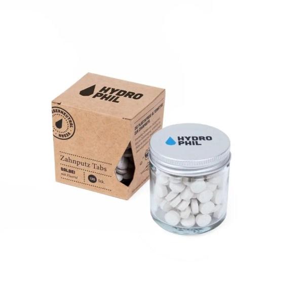dentifricio solido plastic free con fuoro hydrophil