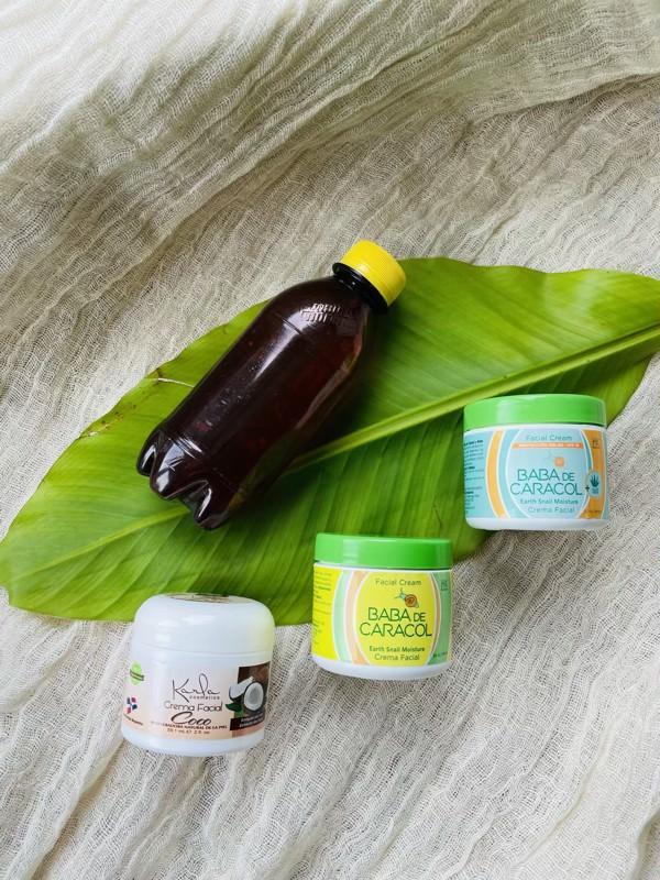 co przywieźć z dominikany krem ze śluzem ślimaka olej kokosowy