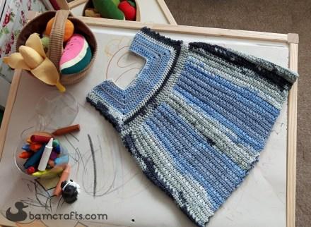 stormy crochet dress