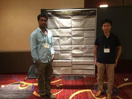 With Hiroyuki at ICML 2016, NY.