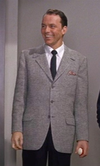 Frank Sinatra as Danny Ocean in the original Ocean's Eleven (1960)