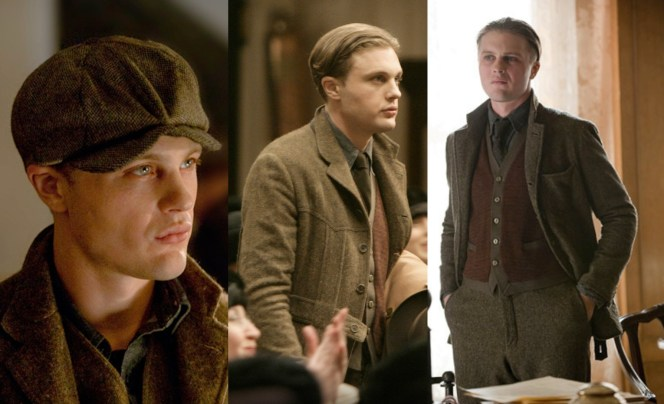 Jimmy's first look was more Christian Bale in Newsies than American Psycho.