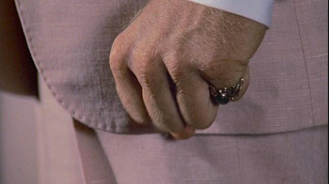 A familiar fist.