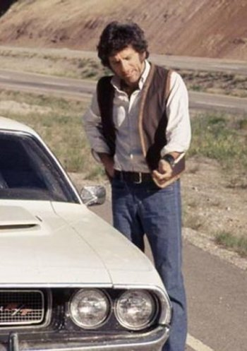 Barry Newman as Kowalski in Vanishing Point (1971)