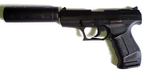 The actual suppressed Walther P99 carried by Daniel Craig in Casino Royale. See IMFDB's entry on Casino Royale.