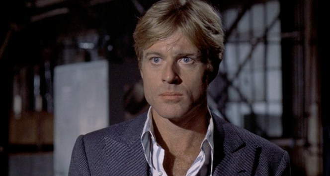 The pinhead is most visible in tight close ups. And, no, I'm not calling Robert Redford a pinhead.