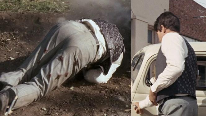 Awkward shots of Warren Beatty's ass.