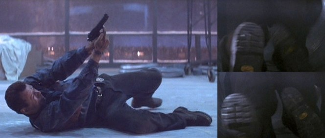 10 BAMF Style points to anyone who can identify McClane's boots.