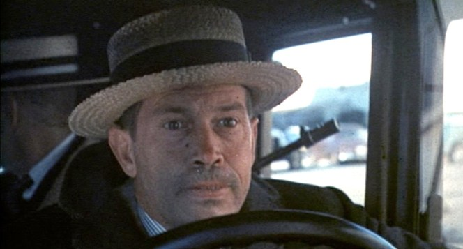 You'd think on a big day like a bank robbery, Dillinger would try and wear a clean hat.