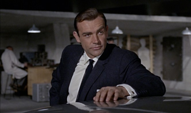 And they said only Roger Moore mastered eyebrow-acting...