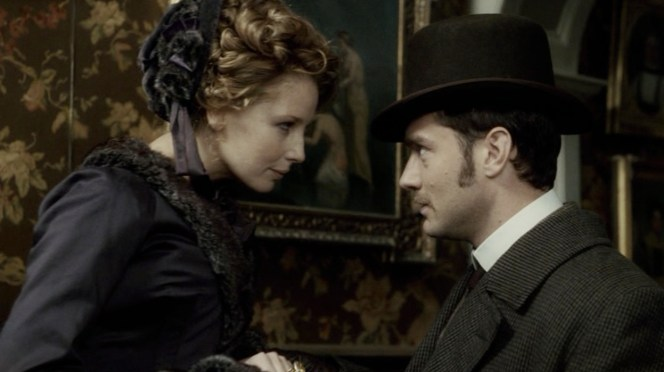 The Coachman's hat also gives Watson a few extra inches of height when his fiancee is standing two stairs above him.