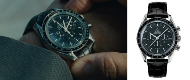 One of many shots in the film showing off Jack's Omega watch. One would think they paid for such exposure!