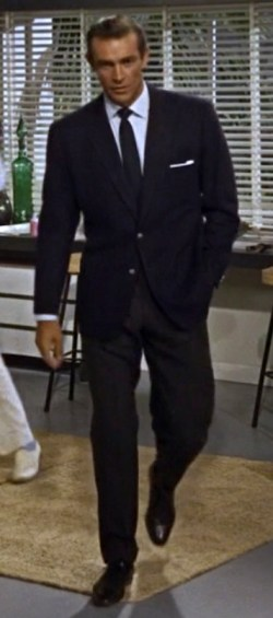 Sean Connery as James Bond in Dr. No (1962).