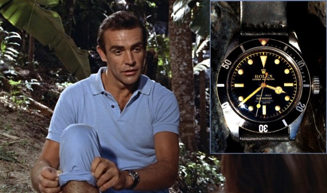 A Rolex 6538 like the one worn by Bond in Dr. No.